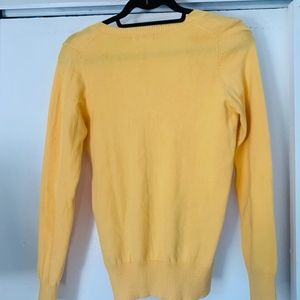Forever 21 Tops - Forever 21 Women's Long Sleeve Yellow Sweater Size